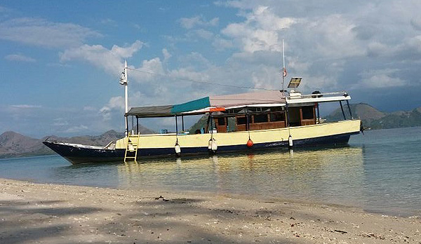 Oben Deck - Boat for day excursion to Rinca Island
