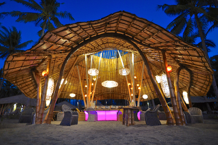Hotel Resort Maumere Flores Idnonesien Tropical Beach Bar