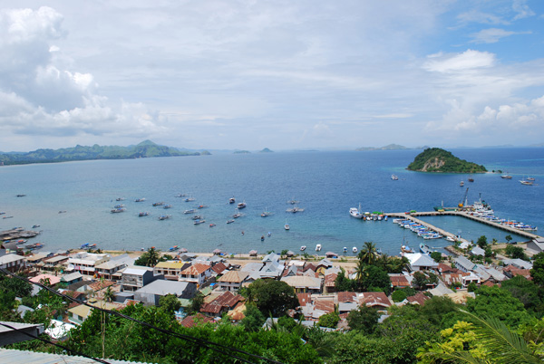 Labuan Bajo on Flores Island is port to Komodo National Park