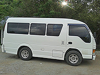 Minibus for up to 9 person