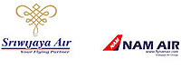International and Domestic flight booking with Nam Air and Sriwijaya Air